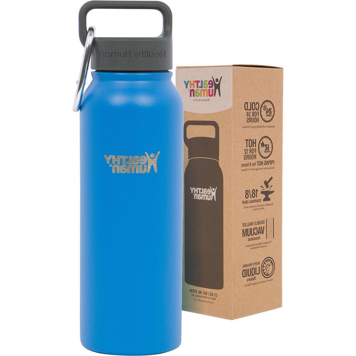 Healthy Human 21 oz Multiple Steel Water