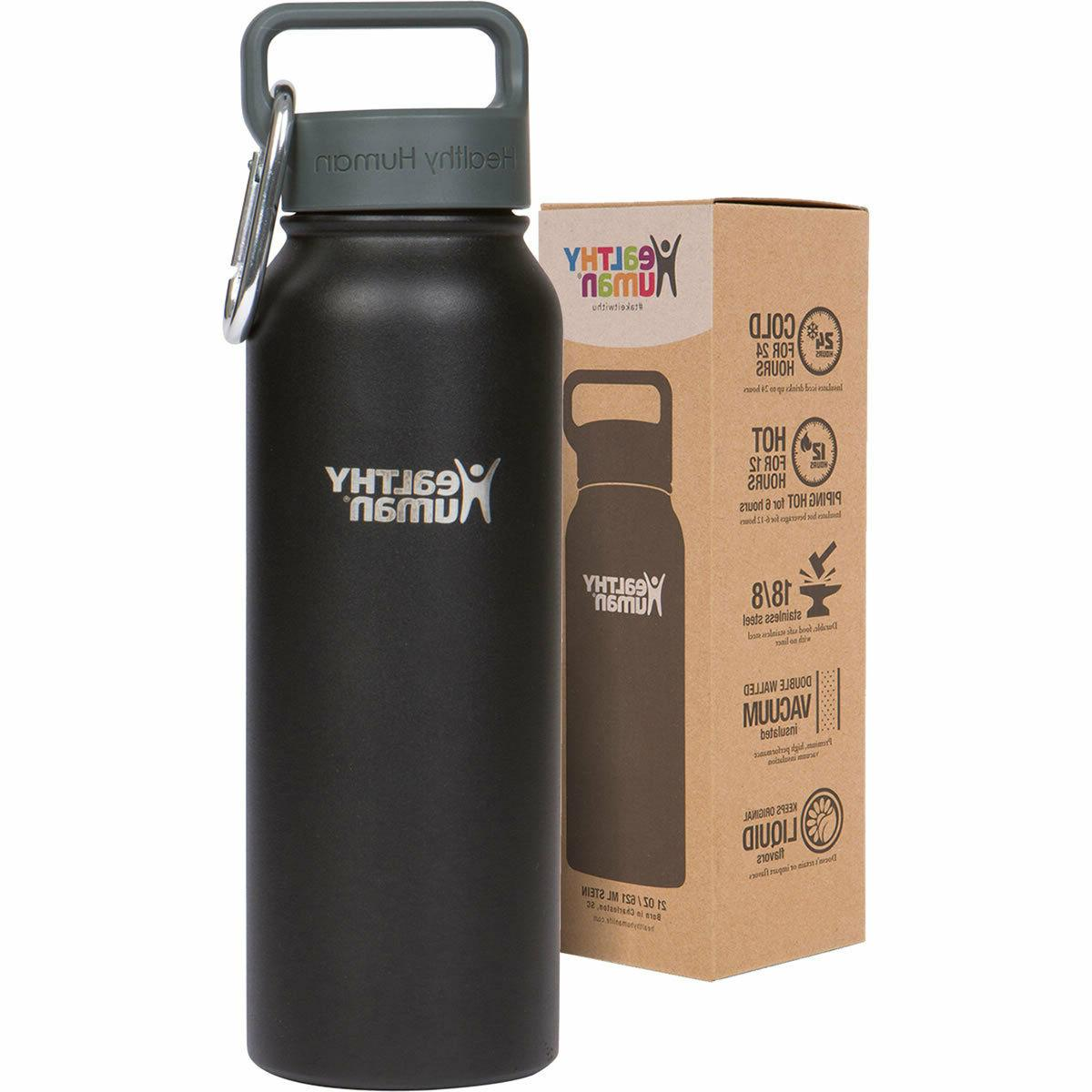 2ce0f3bb2 Healthy Human Insulated Stainless Steel Water Bottle Stein -
