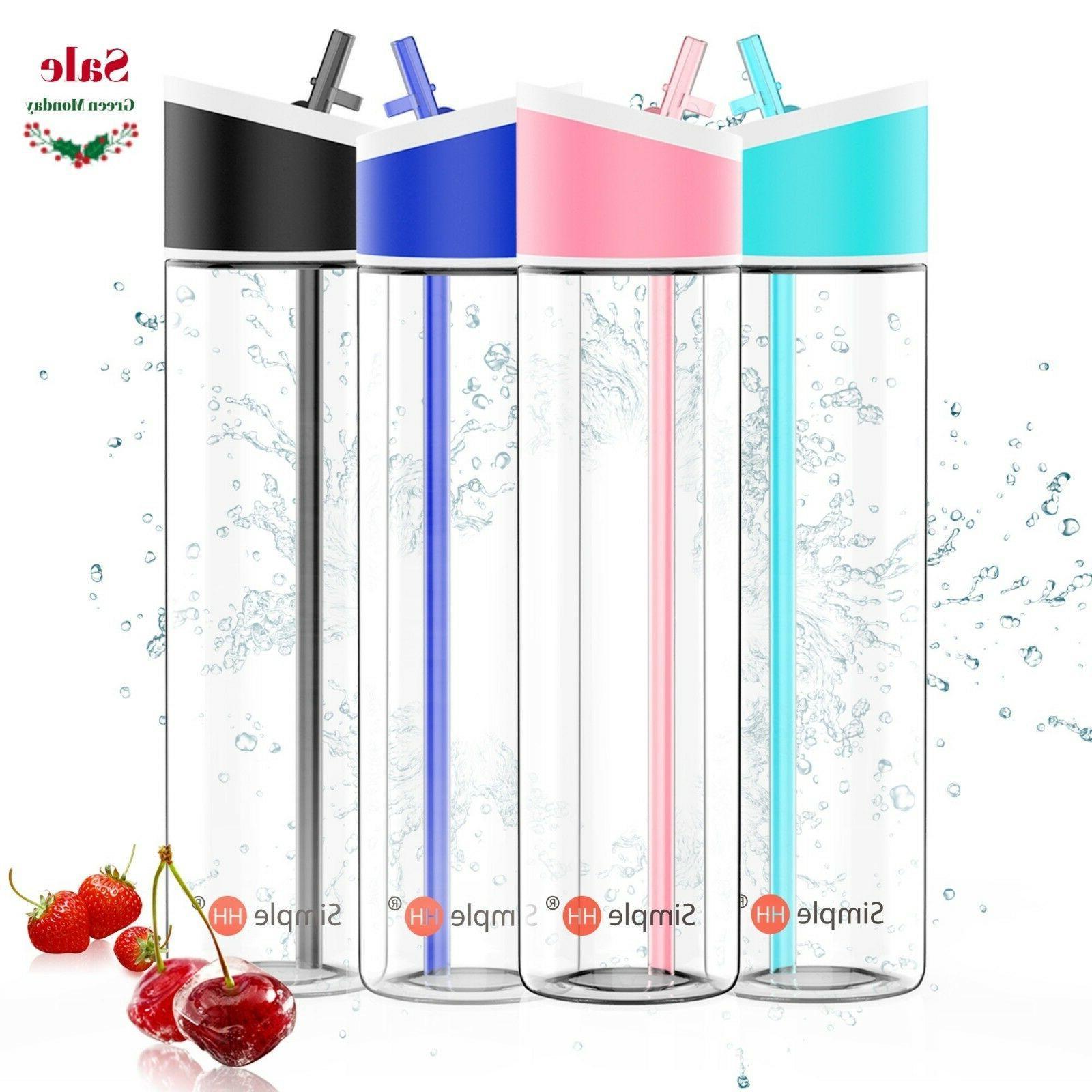 4-Pack Green Monday 21oz|621ml BPA Free Sports Water Bottle