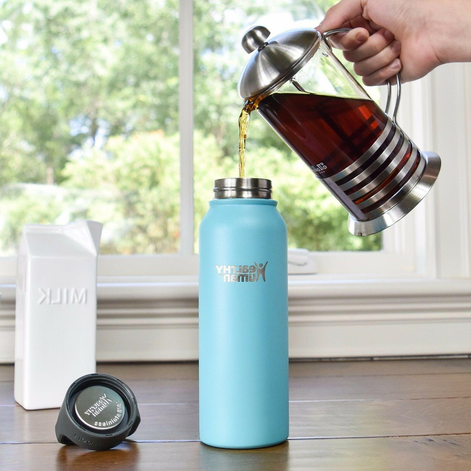Healthy 21oz Glacier Insulated Stainless Bottle