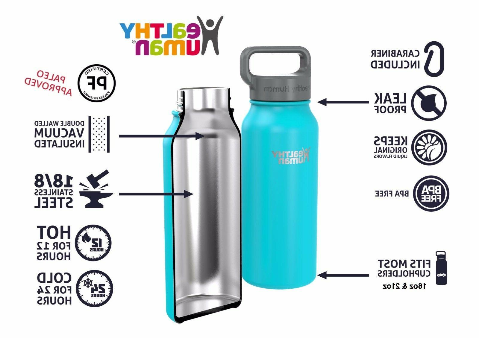 Healthy Human Insulated Stainless Bottle Stein