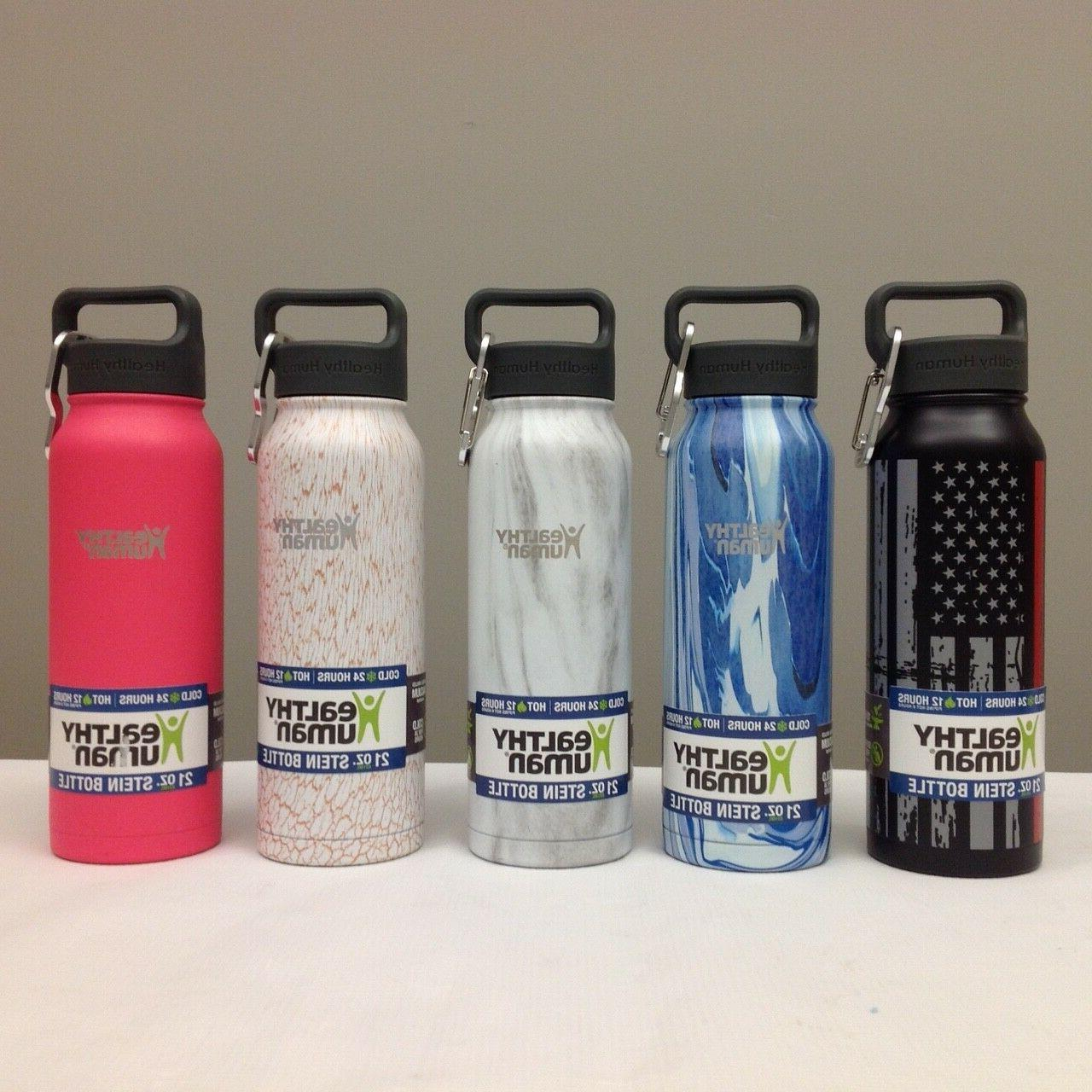 21oz insulated stainless steel water bottle stein