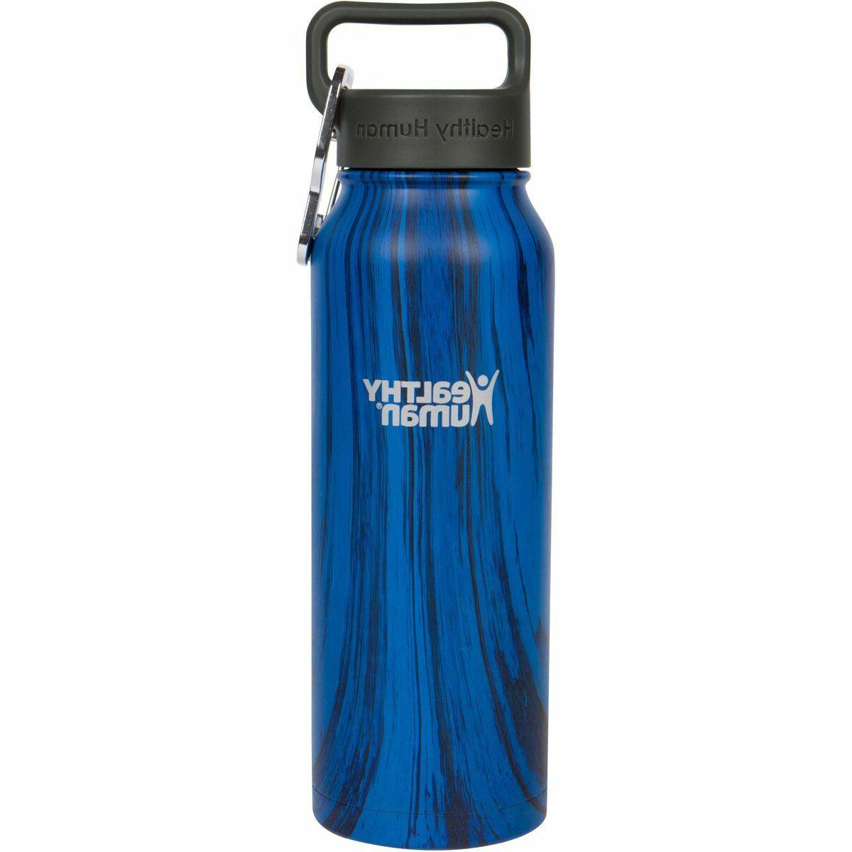 21oz midnight oak insulated stainless steel water
