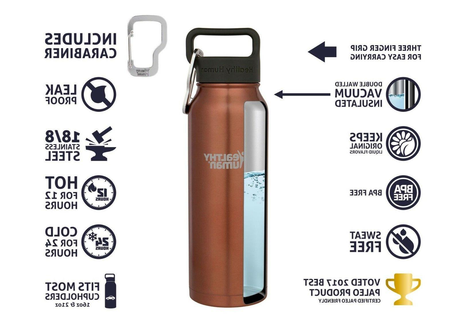 Healthy Human Stainless Water Stein