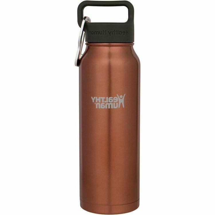 21oz sunset gold insulated stainless steel water