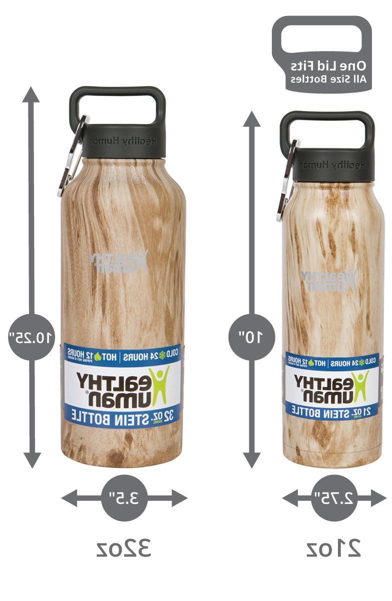 Healthy Human 21oz-willow-oak Stainless Stein