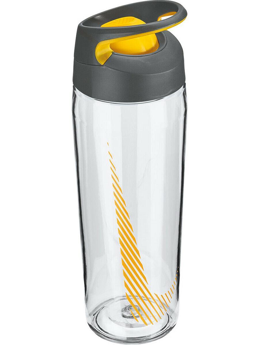 24oz flip top hypercharge plastic water bottle