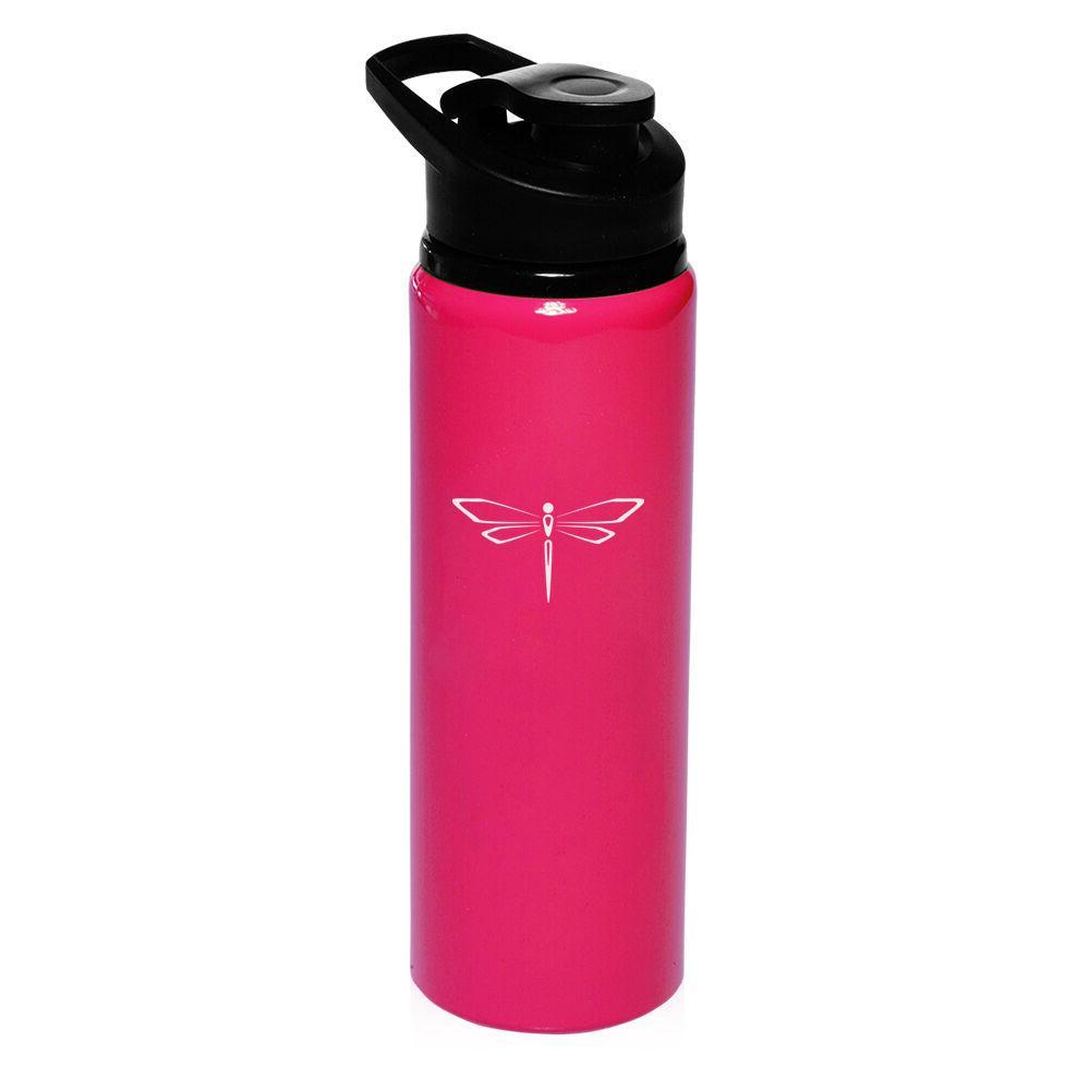25oz Aluminum Sports Water Bottle Travel Canteen I'd Rather