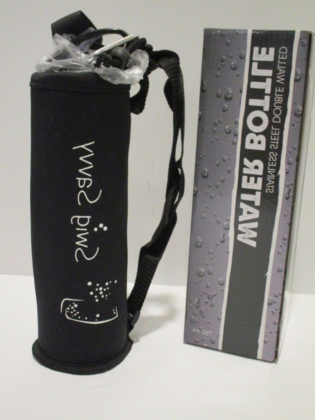 25oz stainless steel double walled water bottle