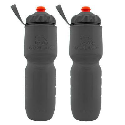 2pk Insulated Set, Water Bottle Handheld Squeeze,