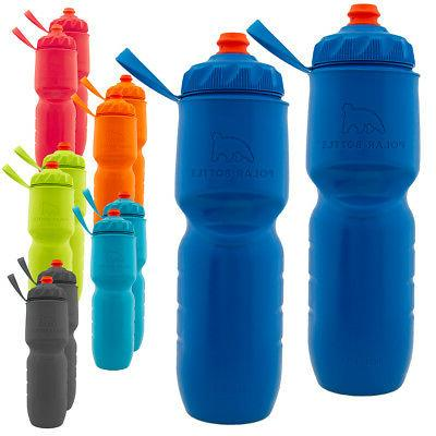 2pk insulated water bottle set 24oz water
