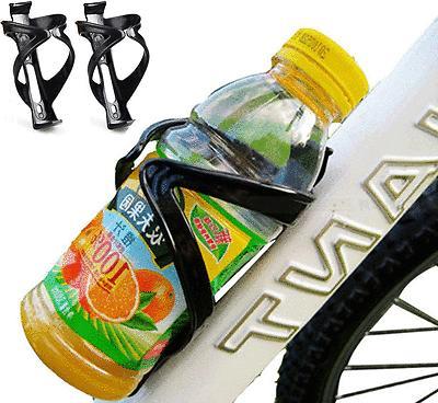 2x bike water bottle cage holder mount