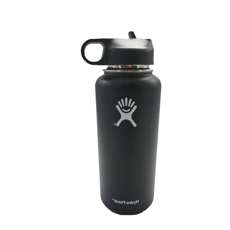 32/40Hydro Flask Water Bottle Stainless Insulated Lid Cap