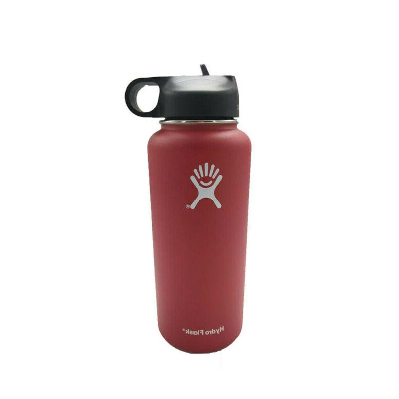 Hydro Flask Water Bottle with Straw Insulated Stainless
