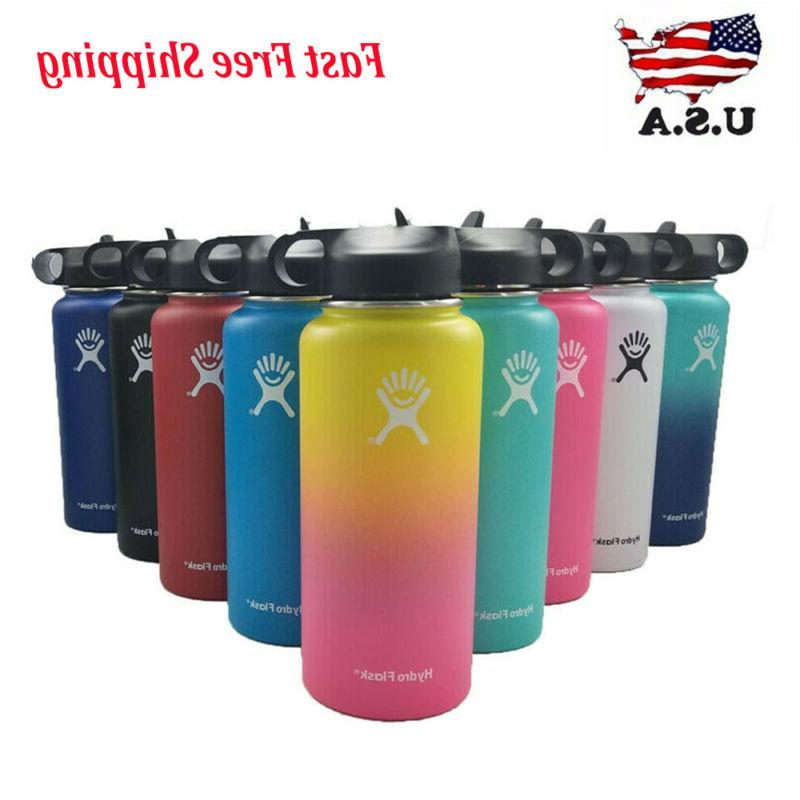 32 40oz water bottle with straw lid