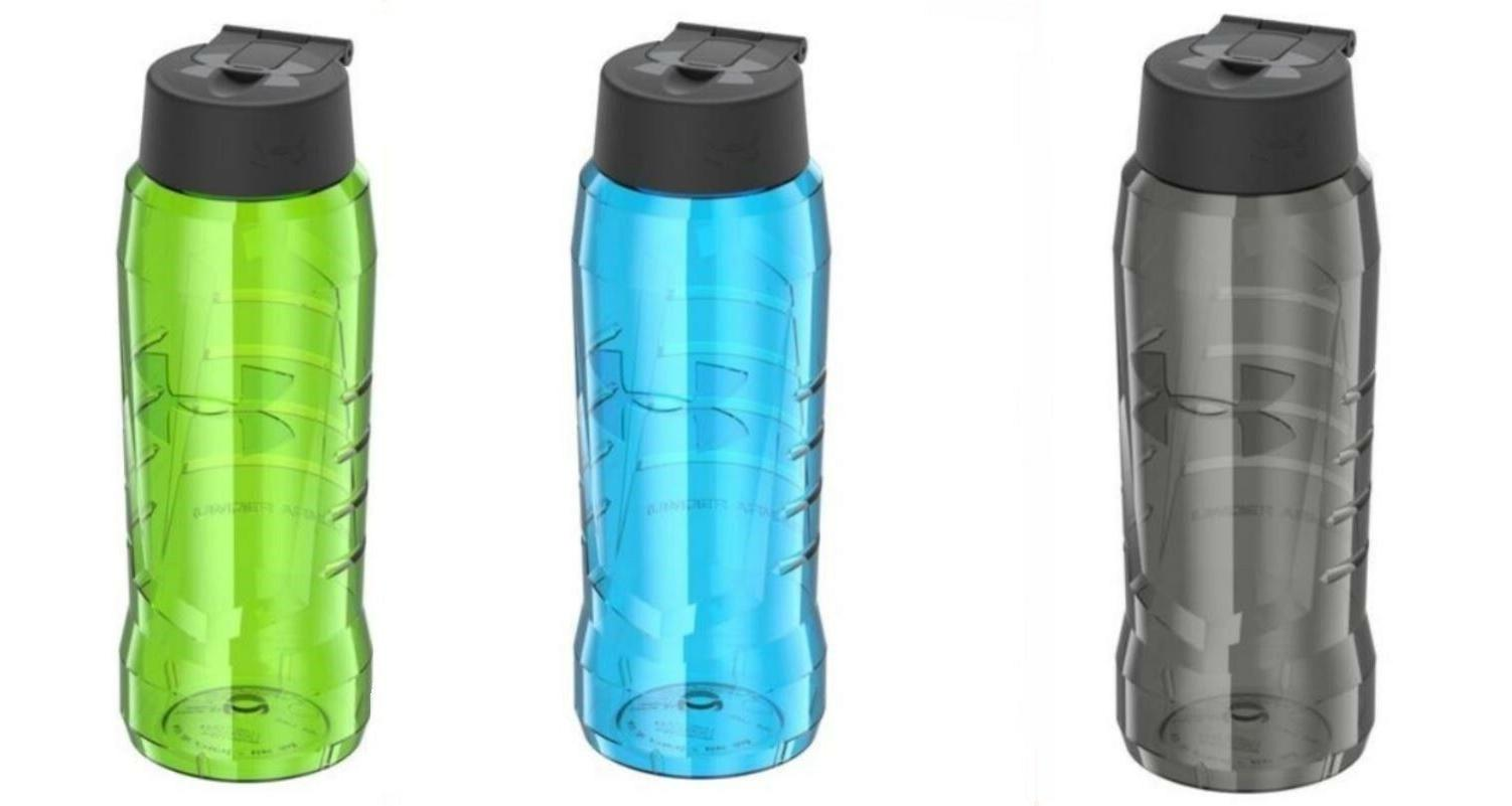Under Armour 32 oz Eastman Hydration Water Bottle Green Blue