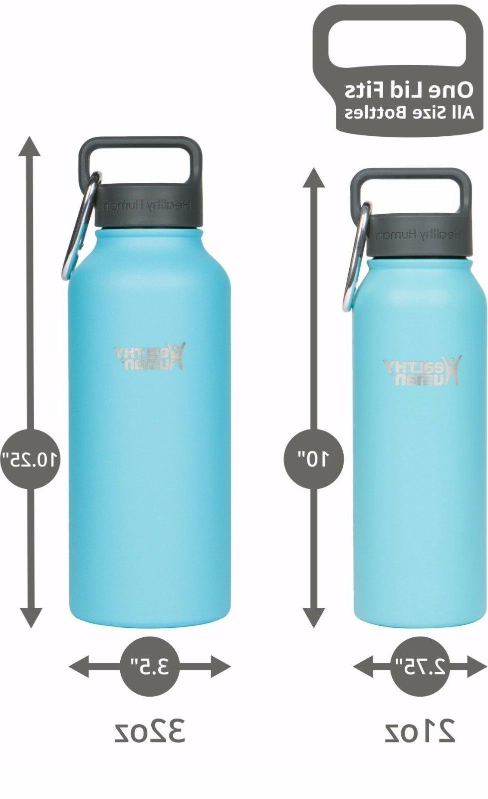 Healthy Human 32 Glacier Insulated Stainless Water