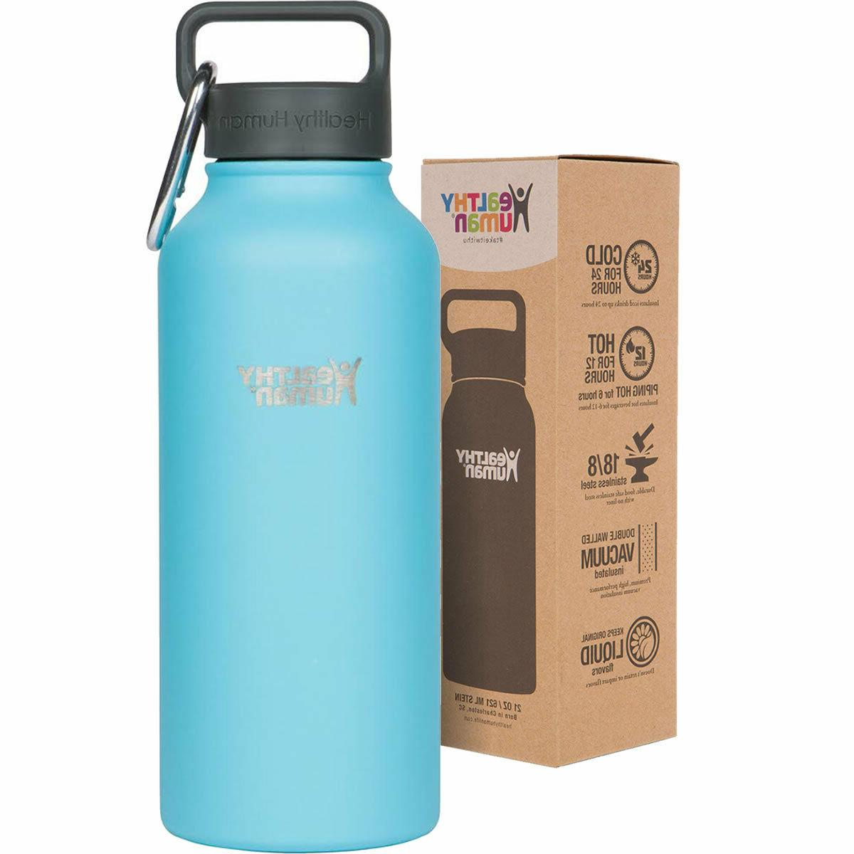 Healthy Human 32 oz Glacier Insulated Stainless Steel Water
