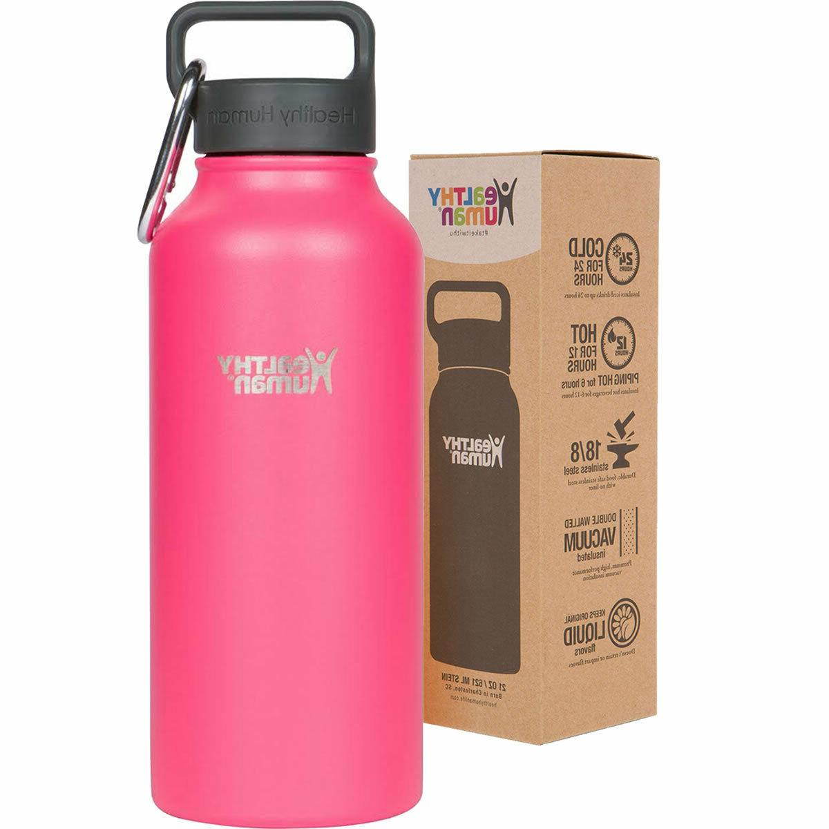 Healthy Multiple Colors Insulated Stainless Steel Water Bottle