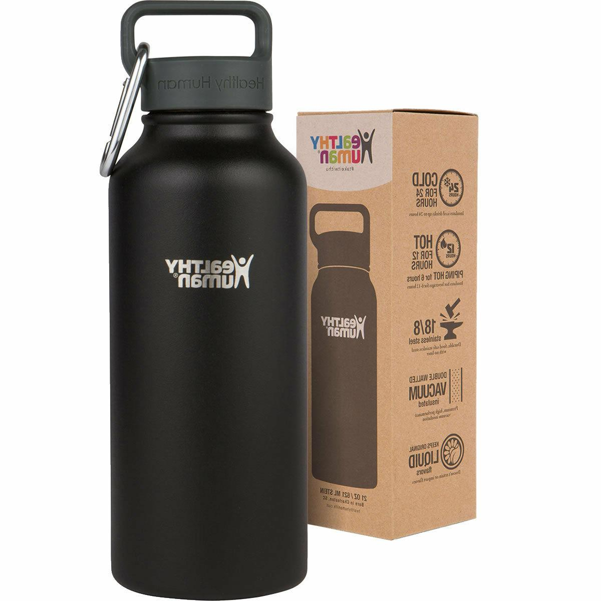 Healthy 32 oz Multiple Insulated Stainless Steel Water Bottle Stein