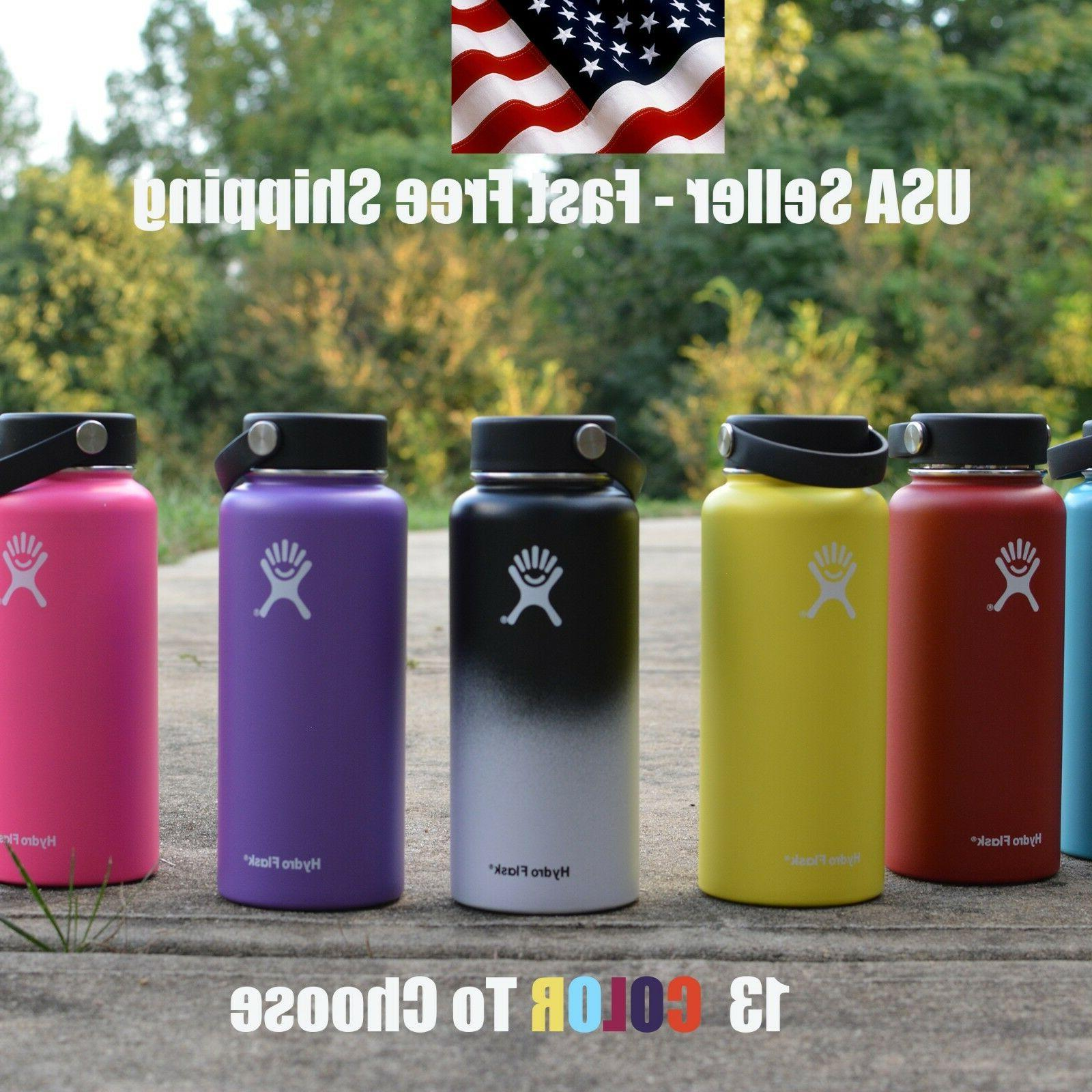 Hydro Flask 32 oz Sports Water Bottle Vacuum Insulated Steel
