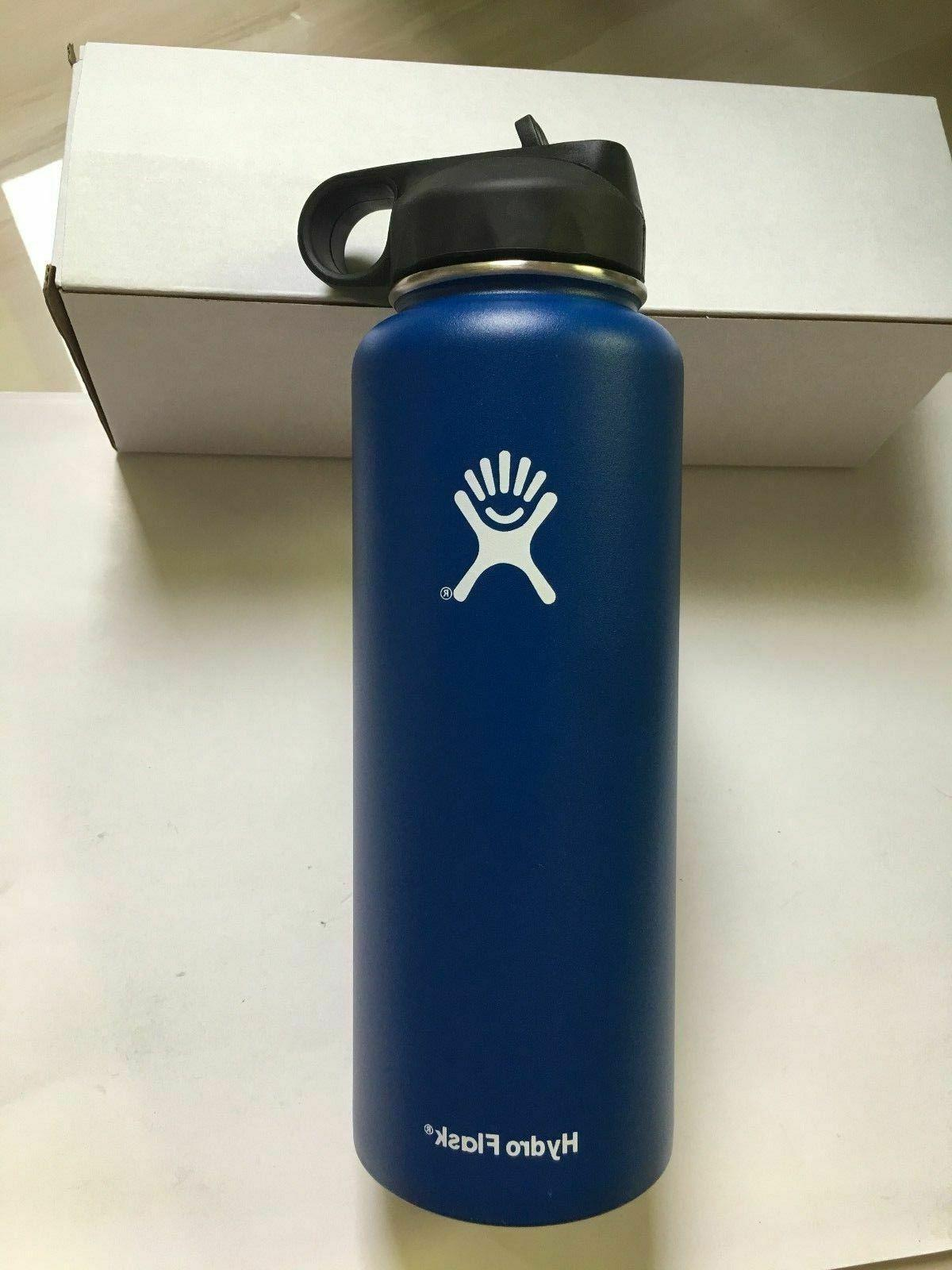 32OZ-Hydro Stainless & Insulated with Straw Lid