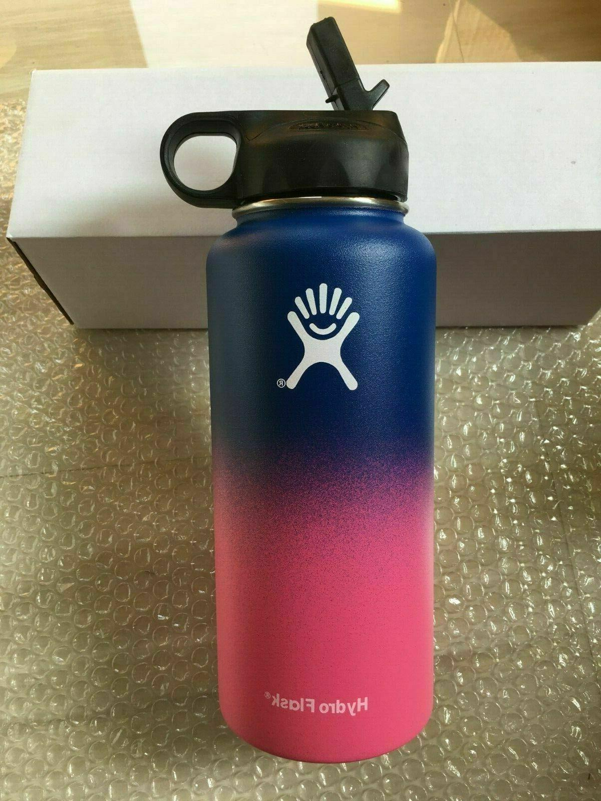 32OZ-Hydro _Water Bottle Stainless Insulated Lid