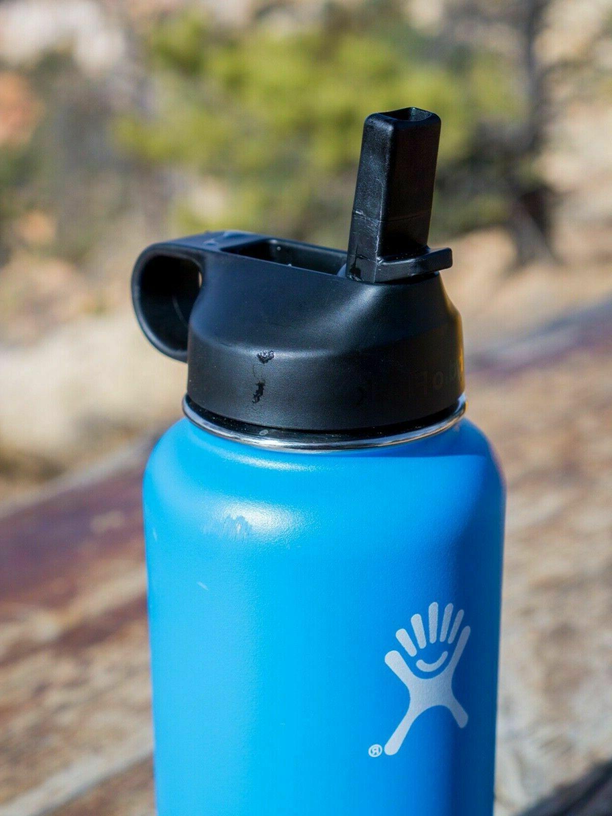 Hydro Flask Wide-Mouth Vacuum Water Bottle Straw - fl.