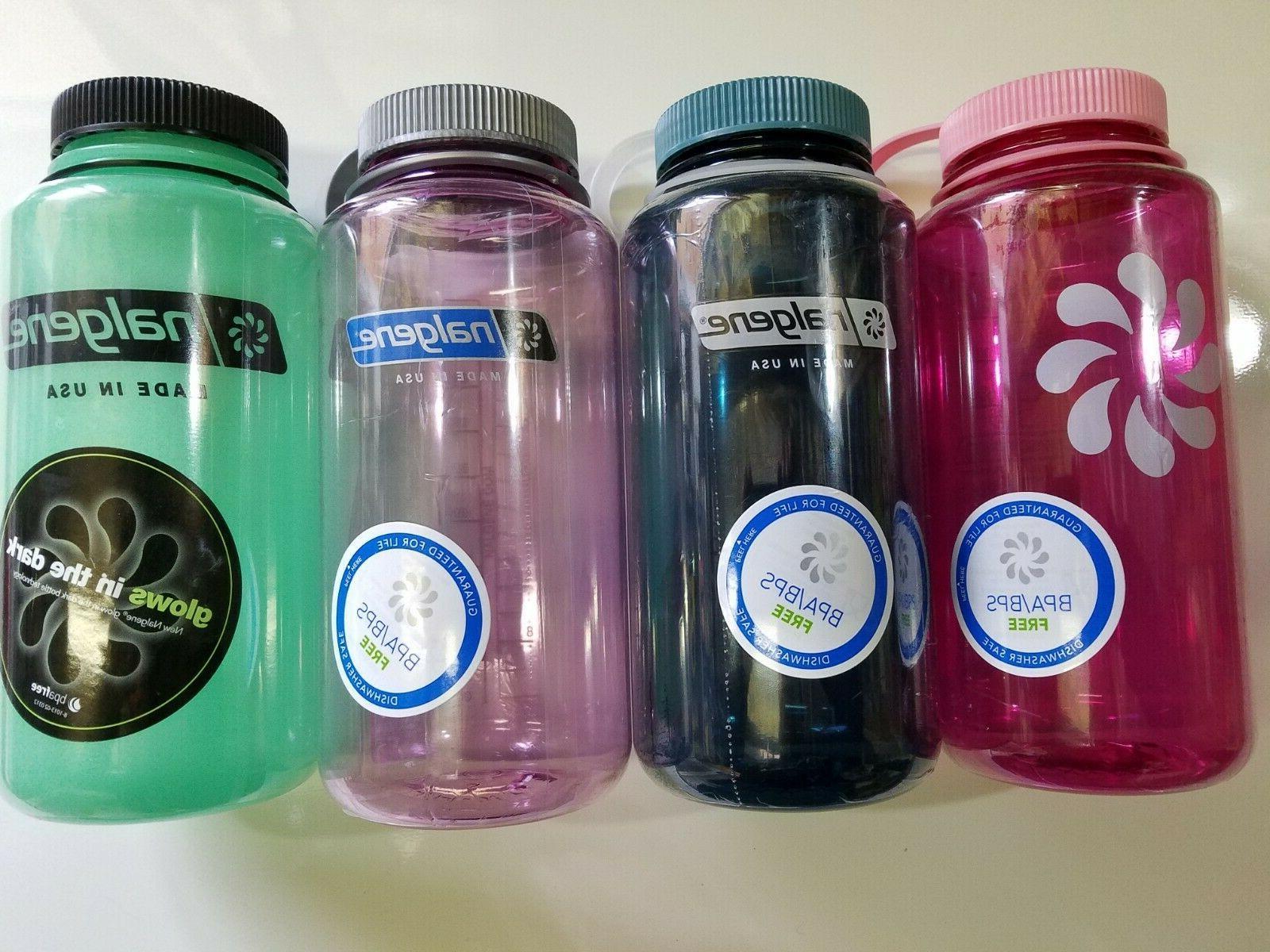 Nalgene Wide Tritan Free Water Bottle, 8 Colors