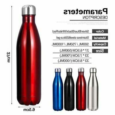 Stainless Steel Bottle Double Wall Sports Metal
