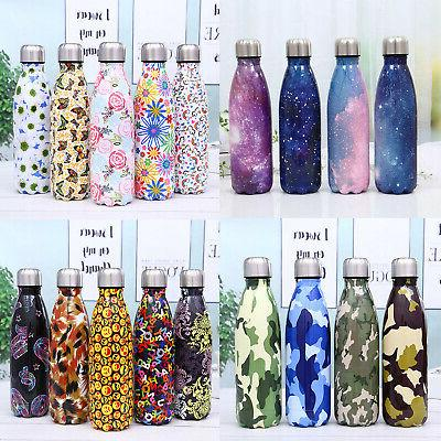 350/500ML/1L Bottle Stainless Cup Vacuum Insulated Water Drink Thermos Mug