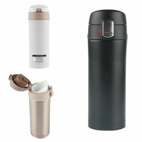 350ml Stainless Steel Vacuum Flask Water Bottle Thermos Coff