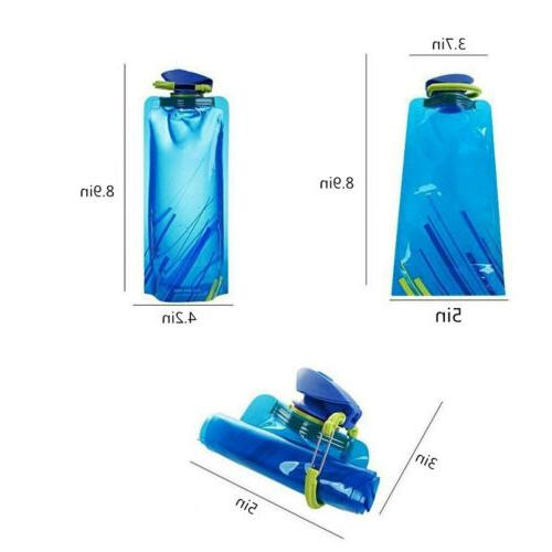 3X Travel Cup Outdoor Folding Water Warehouse