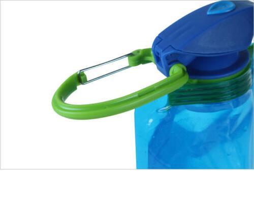 3X 700ml Cup Outdoor Folding Water Bottle