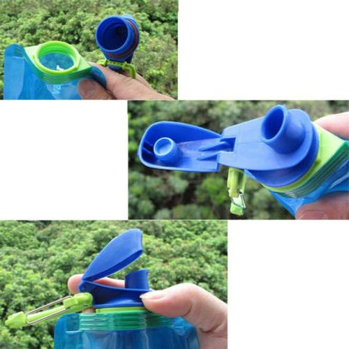 3X 700ml Travel Cup Outdoor Collapsible Water