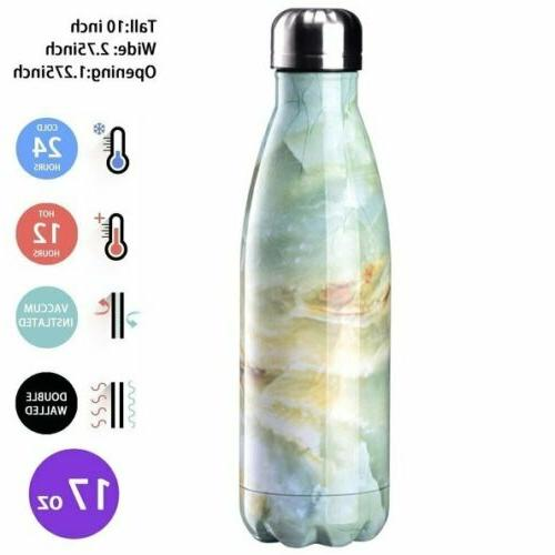 500ml cola stainless steel water bottle double
