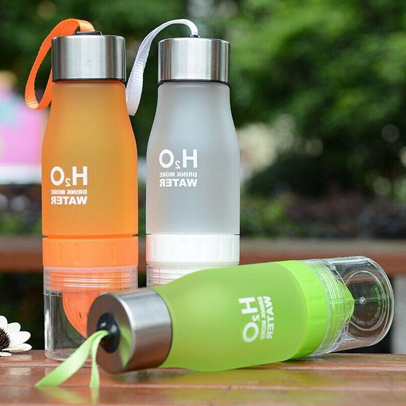 650ml H2O Fruit Juice Cup Water Health
