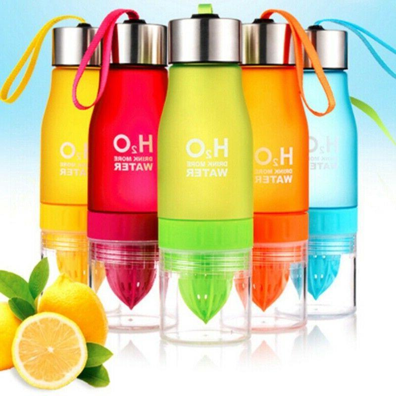 650ml H2O Lemon Juice Infuser Water Health