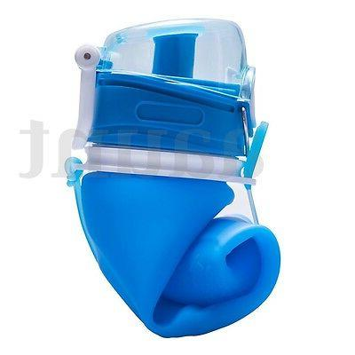 750ml Portable Collapsible Silicone Travel Foldable Handy Drink