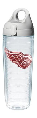 "Tervis 1066939 ""NHL Detroit Red Wings"" Water Bottle with Gre"