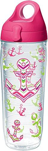 Tervis 1232051 Anchors Away Tumbler with Wrap and Passion Pi