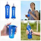 AONIJIE Portable 250/500ML Foldable Soft Flask TPU Squeeze W