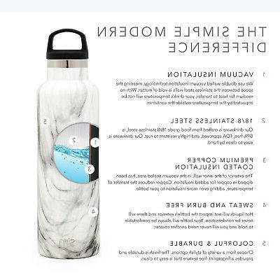 Simple Modern Ascent Water Bottle - Insulated Flask Proof 5 Sizes