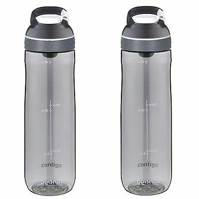 Contigo AUTOSEAL Cortland Water Bottle 24oz Smoke Gray Plast