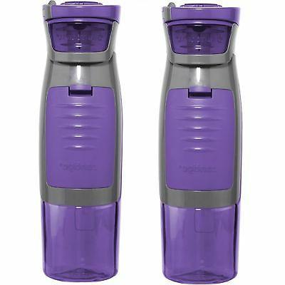 Contigo Autoseal Kangaroo Water Bottle, 24 oz, Purple, 1 ea