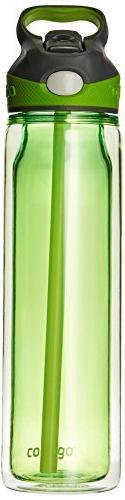 Contigo Autospout Waveland Water Bottle, 18-Ounce, Citron by