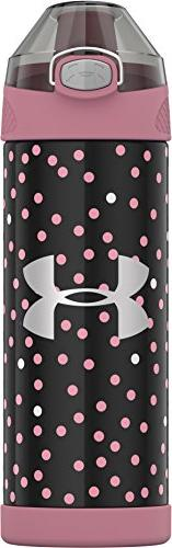 Thermos US4507PN4 Vacuum Insulated SS Bottle 16 Ounce Pink