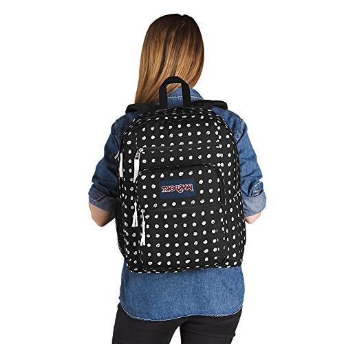 JanSport Big Backpack - Black - Oversized