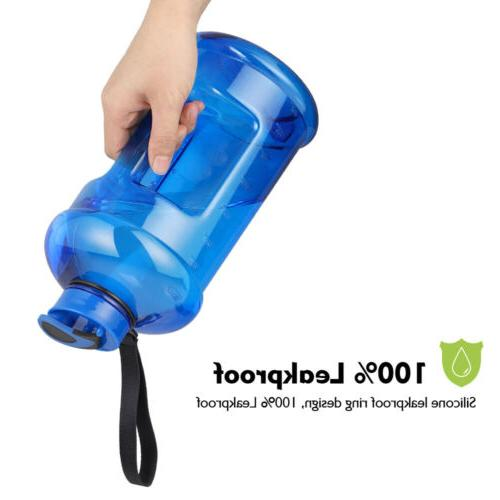 2.2L Sports Water Bottle BPA-Free Large Capacity for Fitness