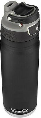 Black Insulated Water Bottle Stainless Steel 24 oz. Coleman